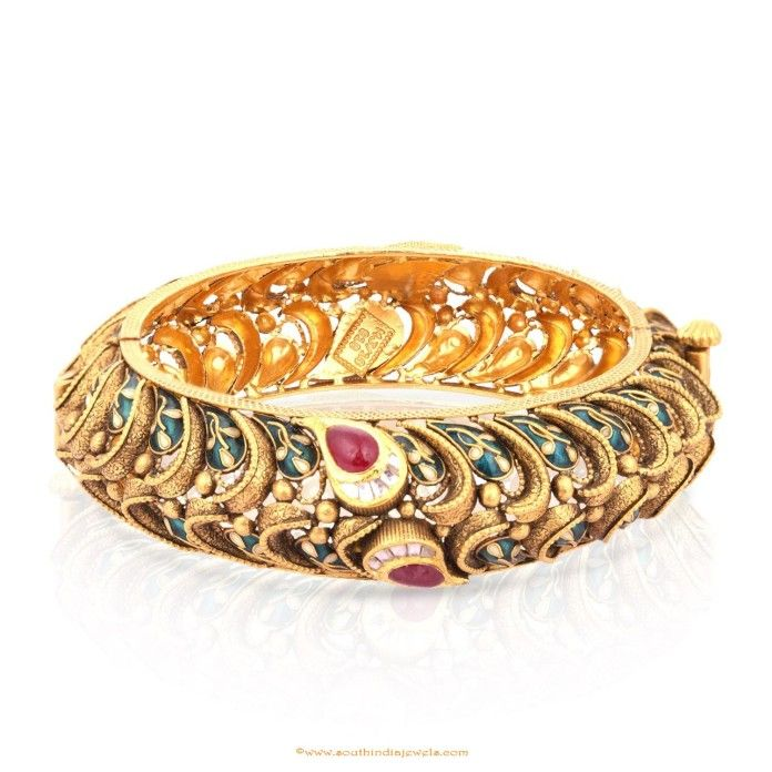Gold Bangle Design From Malabar Gold & Diamonds