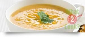 Pumpkin Soup with Ginger & Coriander