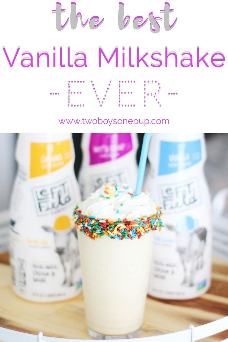#ad The best vanilla milkshake ever! There are only two ingredients, making it super easy and quick! Featuring @LeftFieldFarms vanilla creamer, available at Walmart! non-GMO, no artificial flavoring, and delicious!  #leftfieldfarms #milkshake #coffeecreamer #momlife #momhack #recipe #easyrecipe #easysnack #easymilkshake #bestmilkshake #bestvanillamilkshake