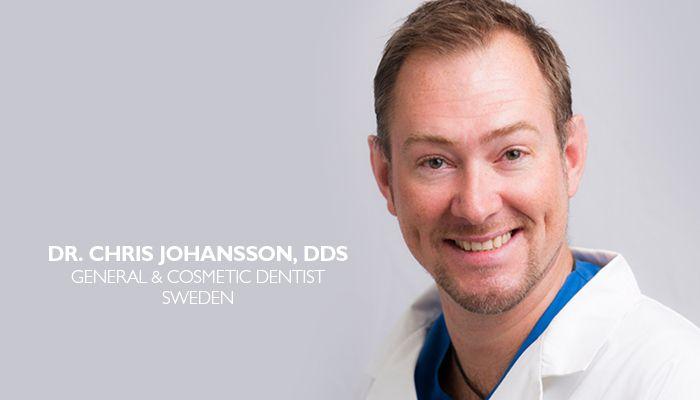 Dr. Chris Johansson, Up Close & Personal General Dentist at Dr. Michael's Dental Clinic in Dubai