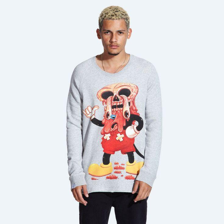 Facemelter Sweater (Grey) #DDXMASWISHLIST