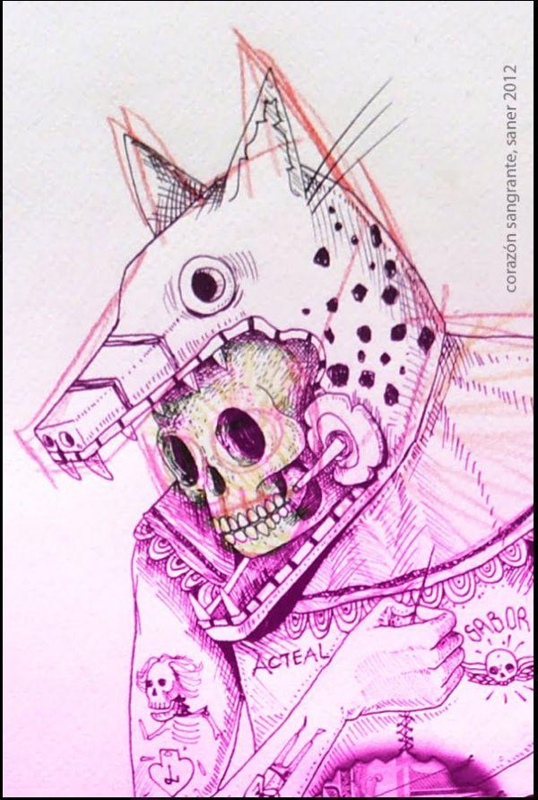 Edgar Saner Sketch