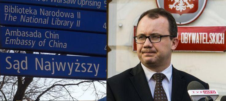 """Organizacje międzynarodowe napisały list do KE, w którym upominają się, by """"Komisja kontynuowała działania przeciwko rządowi Polski""""."""