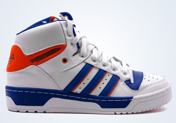Adidas Attitude Hi PATRICK EWING NEW YORK KNICKS RETRO BASKETBALL SHOE  #adidas #BasketballShoes