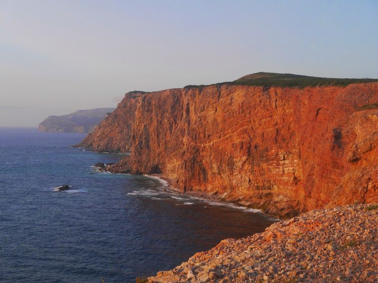 300 foot high cliffs at Cape St. George, Port aux Port Peninsula, Newfoundland