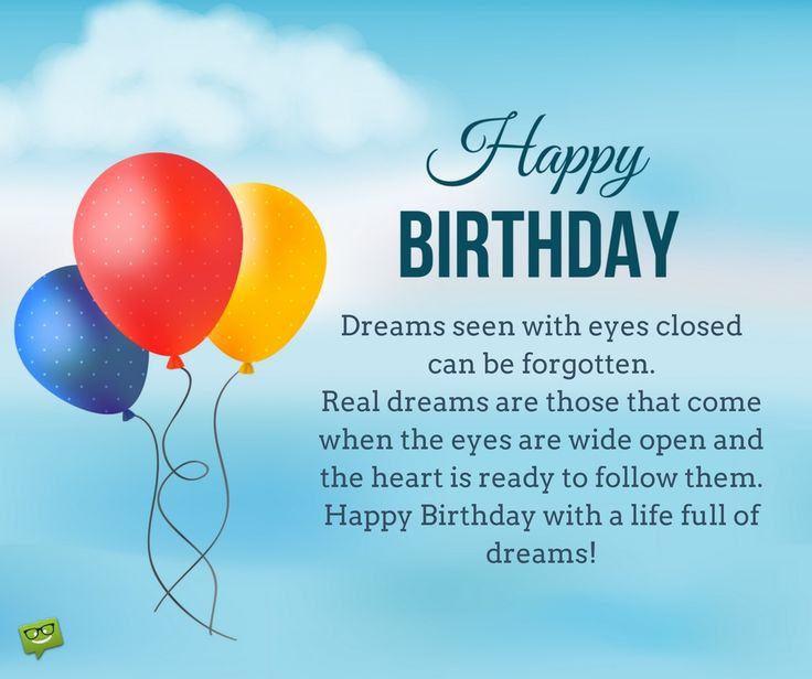 25+ Best Ideas About Inspirational Birthday Wishes On