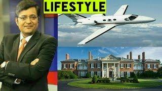 Arnab Goswami Income House Cars Luxurious Lifestyle & Net Worth