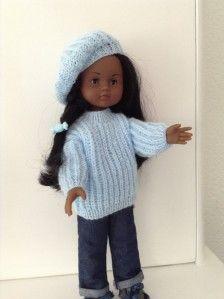 laine Katya baby.. aiguilles 2et demi Le pull monter 34 mailles et tricoter 6…