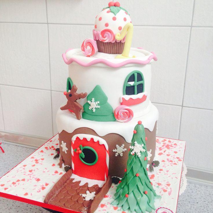 Candy house cake  by #sketiglyka