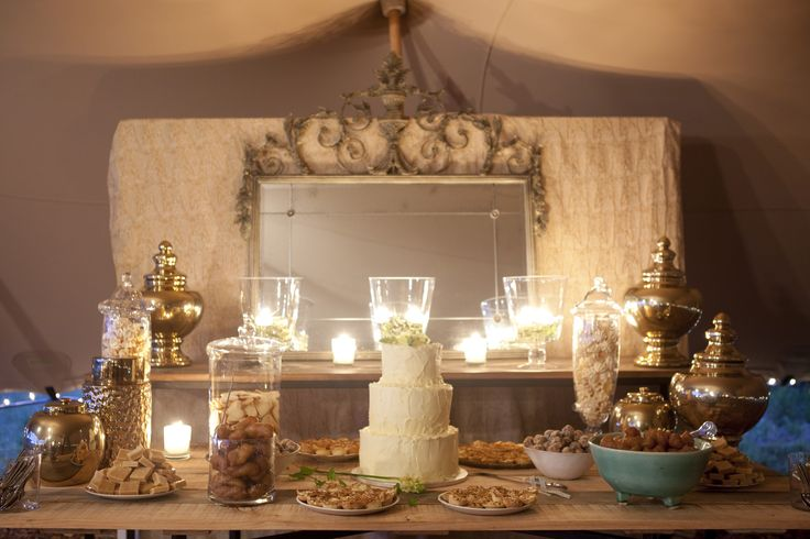 www.facebook.com/eventsandtents  Wedding Planning, hire & styling - Events & Tents; Florist - Pippa's Flowers; Photographer - Alfred Lor; Stationery - Paisley Dog; Catering - Dee's Catering; Hair & Makeup - Karin Chan  #desserttable #stretchtent #yellow #mint #wedding #woodentables