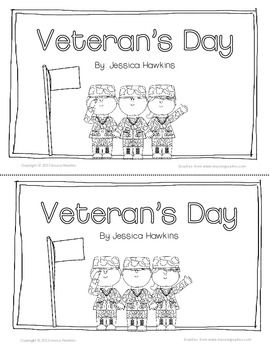VETERAN'S DAY FREEBIE PACK! (ORIGINAL POEM, EMERGENT READER, & RESPONSE PAGES) - TeachersPayTeachers.com