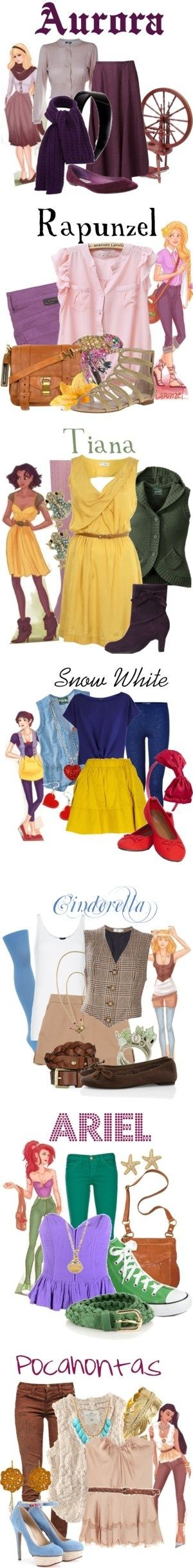 Disney outfits interesting concept find more women fashion ideas on www.misspool.com                                                                                                                                                      More