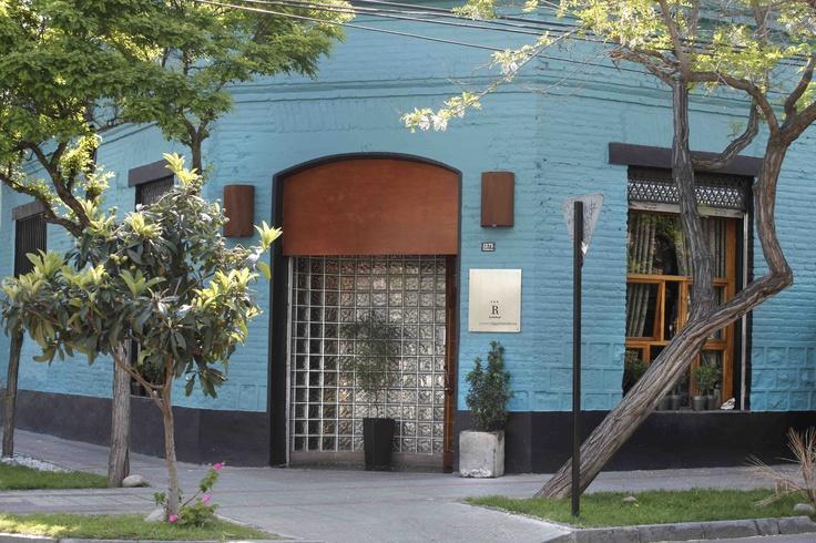 Típica casona de Barrio Italia, en la que se esconde uno de los mayores secretos culinarios de Santiago.