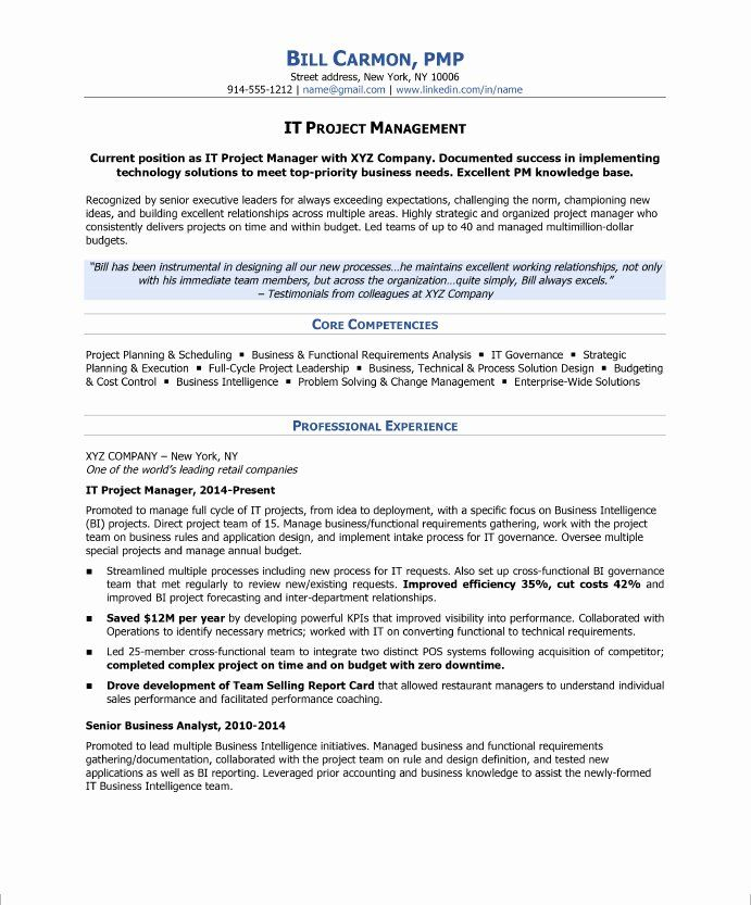 Project Management Job Description Resume Inspirational How To Write A Project Manager Resume Blog In 2020 Project Manager Resume Resume Examples Job Resume Samples