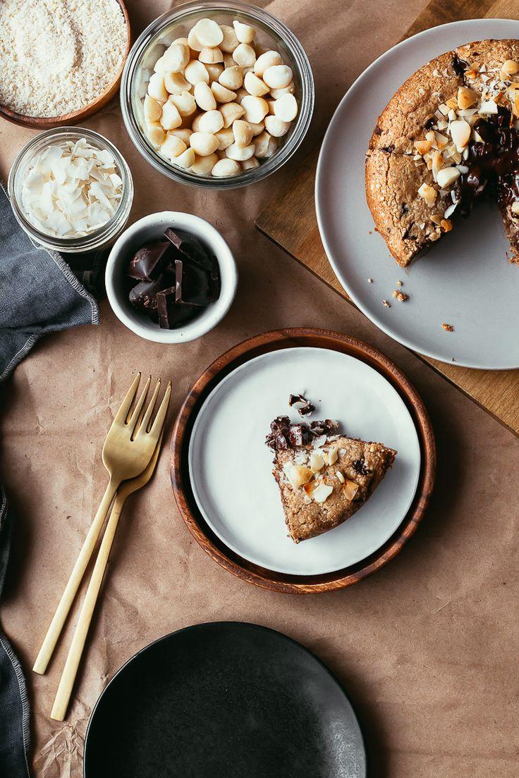 Magic Cookie Cake | Faring Well | #vegan #glutenfree #recipe