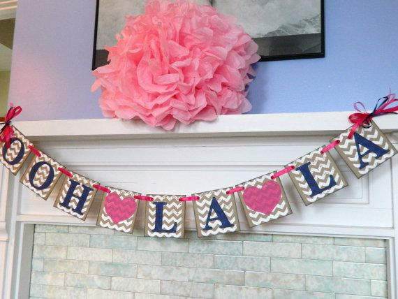 This banner is perfect for that Bachelorette party or lingerie party that needs a little POP of color!!    This banner is made on 4x4 inch