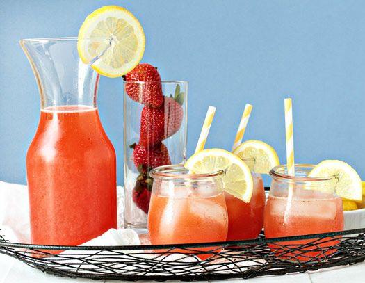 Strawberry Lemonade - Ree Drummond The Pioneer Woman