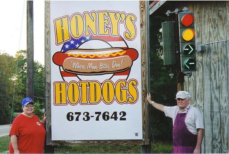 Honey Hot Dogs Dothan Alabama