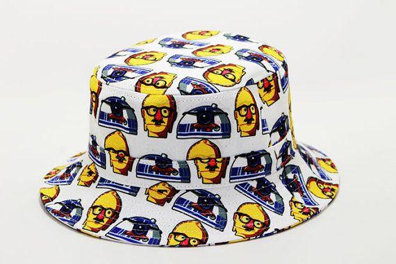 R2D2 sombrero del cubo por happycaps15 en Etsy