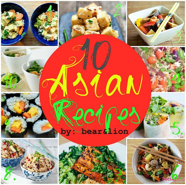 asianfoodcollage by bear & lion mama, via Flickr