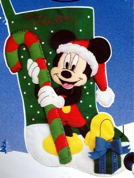 Minnie Mouse Christmas Stocking