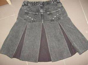 Restaura Jeans Uberlândia ensina a transformar uma simples calça jeans numa saia especial - farolcomunitario.com.br
