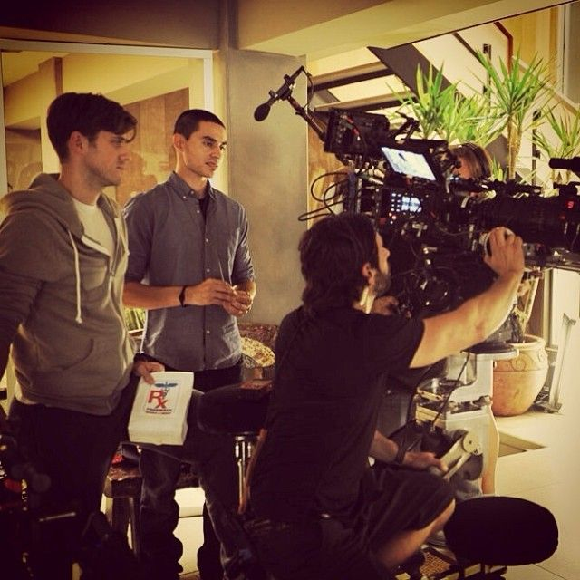 From graceland_tv : filming season 2 (10 mins ago ...