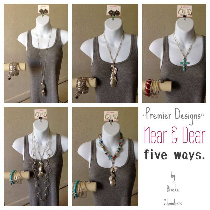 premier designs combinations || near and dear, five different ways. #premierdesigns #pdcombos