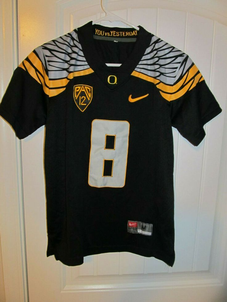 Marcus mariota oregon ducks authentic football jersey