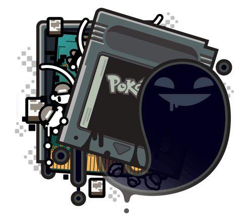 Pokémon Creepy Black Version