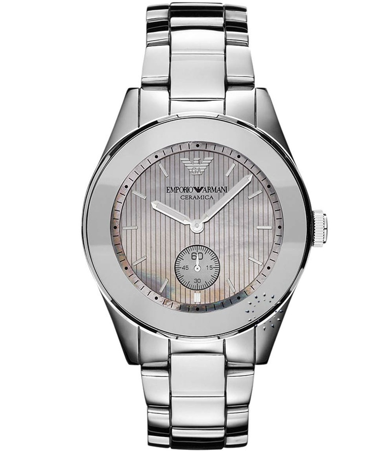 Emporio Armani Ceramica Stainless Steel Bracelet, 549€ http://www.oroloi.gr/product_info.php?products_id=30872
