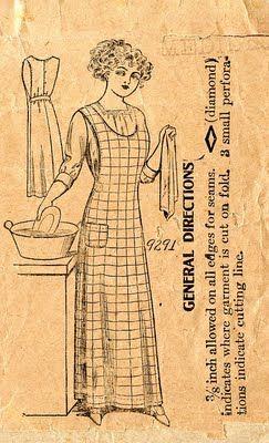 Unsung Sewing Patterns: Beauty Pattern Company 9291 - Ladies' Apron