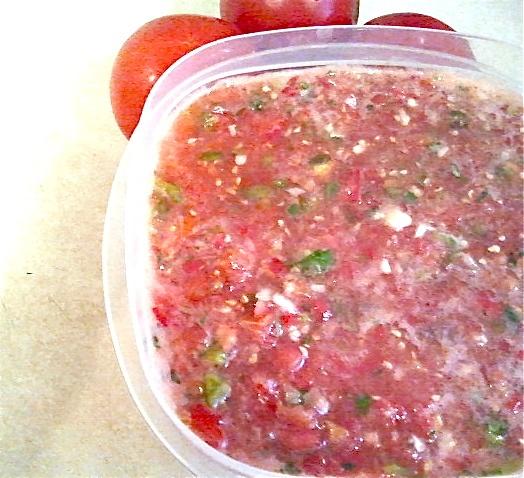 Garden Fresh Salsa   Appetizers   Pinterest