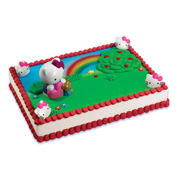Hello Kitty Bubble Blower Cake Via Publix Cakes The