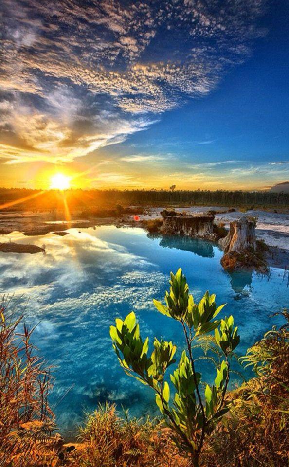 Blue lake Singkawang Indonesia #awesome #lake #beautiful #place #good #travel  #nice #picoftheday #loveit #seraph #seraphstore  www.seraphstore.com