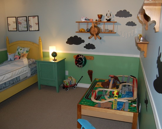 Children S And Kids Room Ideas Designs Inspiration: Kids Planes Trains Automobile Design, Pictures, Remodel