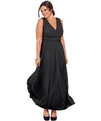 Společenské šaty pro plnoštíhlé, šaty SHEEGO, večerní šaty v nadměrné velikosti (vel.46 skladem) černá 23 (46) Dopravné zdarma!