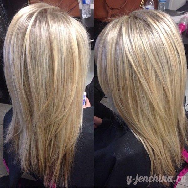 очень красивые стрижки на средние волосы фото каскад