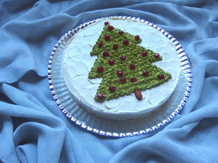 gluteeniton vegaani erikoisen hyvää joulukakku