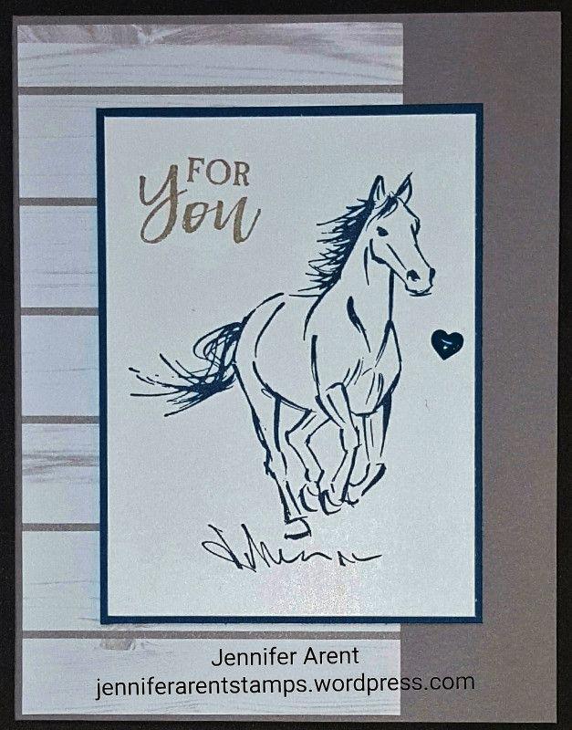 Galloping Horse Birthday Card By Monsyd2 At Splitcoaststampers Horse Cards Horse Birthday Cards