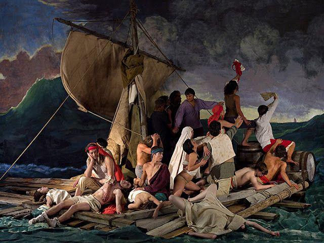 Η σχεδία της Μέδουσας - Πίνακας του Teodore Gericault (1819)