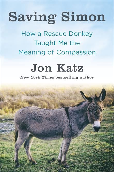 Book Review and Giveaway!  Saving Simon: How a Rescue Donkey Taught Me the Meaning of Compassion.
