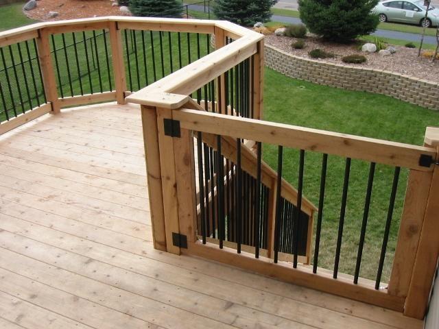 How to install a diy deck gate handyman matters