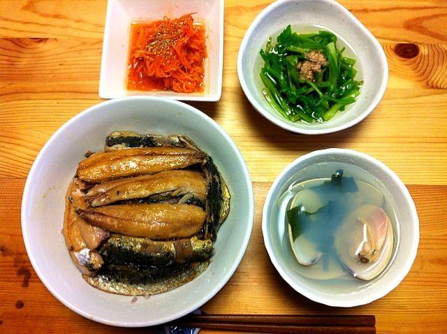 レシピはプロフィールのDE-OILブログをどうぞ - 6件のもぐもぐ - 鰯のかば焼き丼・ハマグリの潮汁 by deoil518