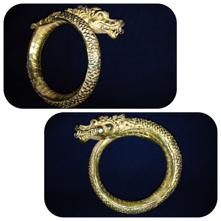 gold bracelet majapahit (java) indonesia