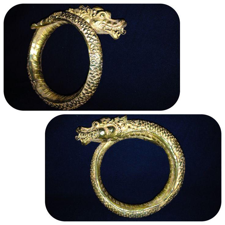 gold bracelet majapahit (java) indonesia