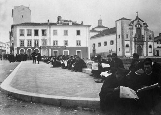 Coimbra 1907 - Greve Académica dos Estudantes da Universidade de Coimbra