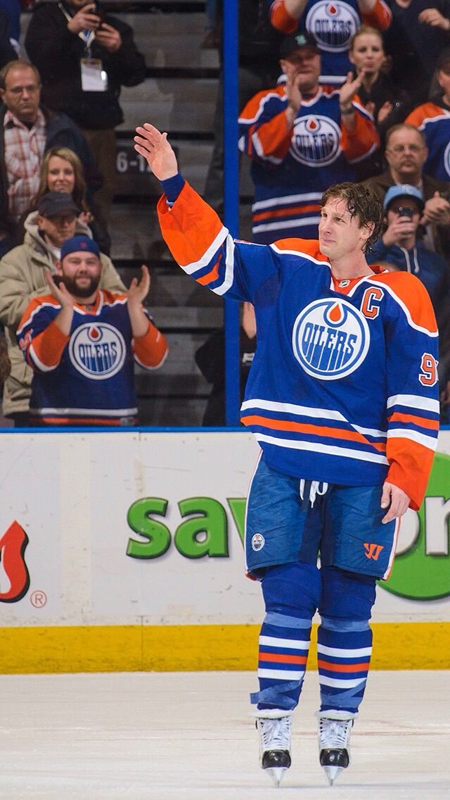 Ryan Smyth. Once an Oiler sways an Oiler.