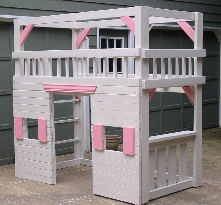 Small Girl Loft Beds Bed Decorating Ideas Modern Style