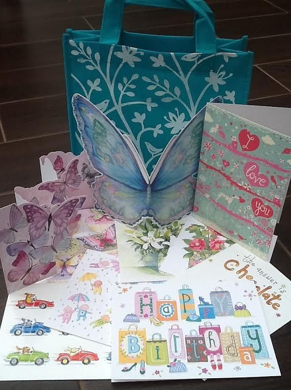 Louise's Cards, Independent Phoenix Trader, Oxfordshire.  Recommend a Friend to join my Phoenix team and receive a lovely Phoenix gift.